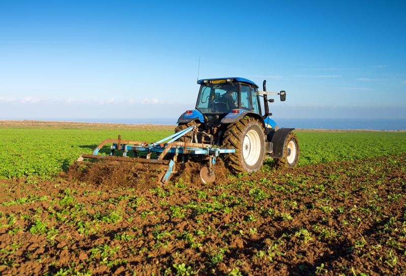 農業トラクター